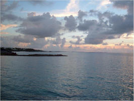 Bermuda photograph of a sunet