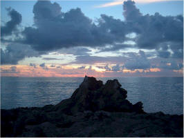 Bermuda photography of sunsets.