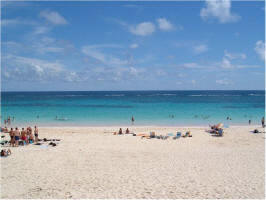 Pictures from Elbow Beach Bermuda.