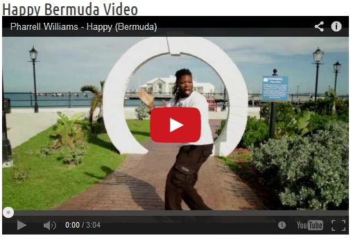 Happy | Bermuda | video to the Pharrell Williams song