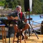 Live music in Bermuda.