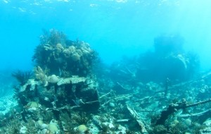 Nola shipwreck in Bermuda is on TV in UK.