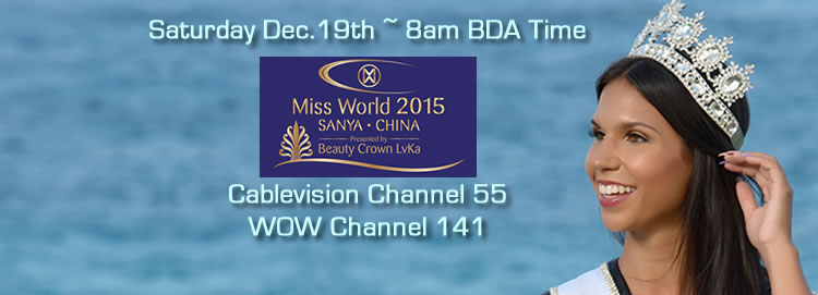 Vote For Miss Bermuda In Miss World Contest