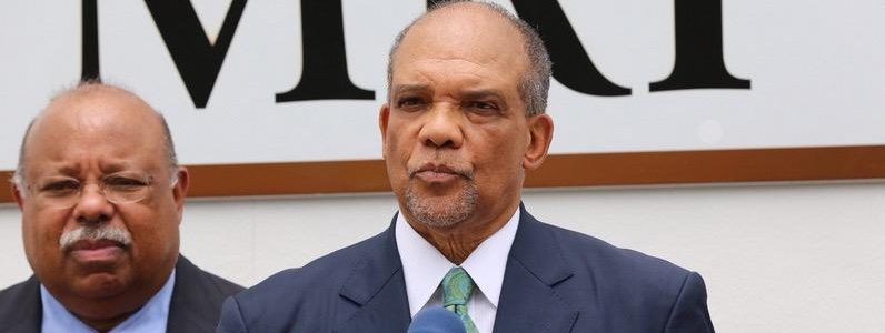 Dr. Ewart Brown, the former premier of Bermuda and founder of Bermuda Healthcare Services, said the charges against him are racially motivated.
