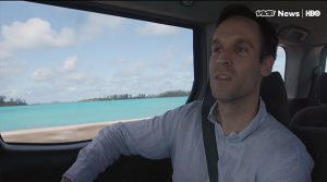 Will found taxi drivers were proud promoters of Bermuda's offshore industry.