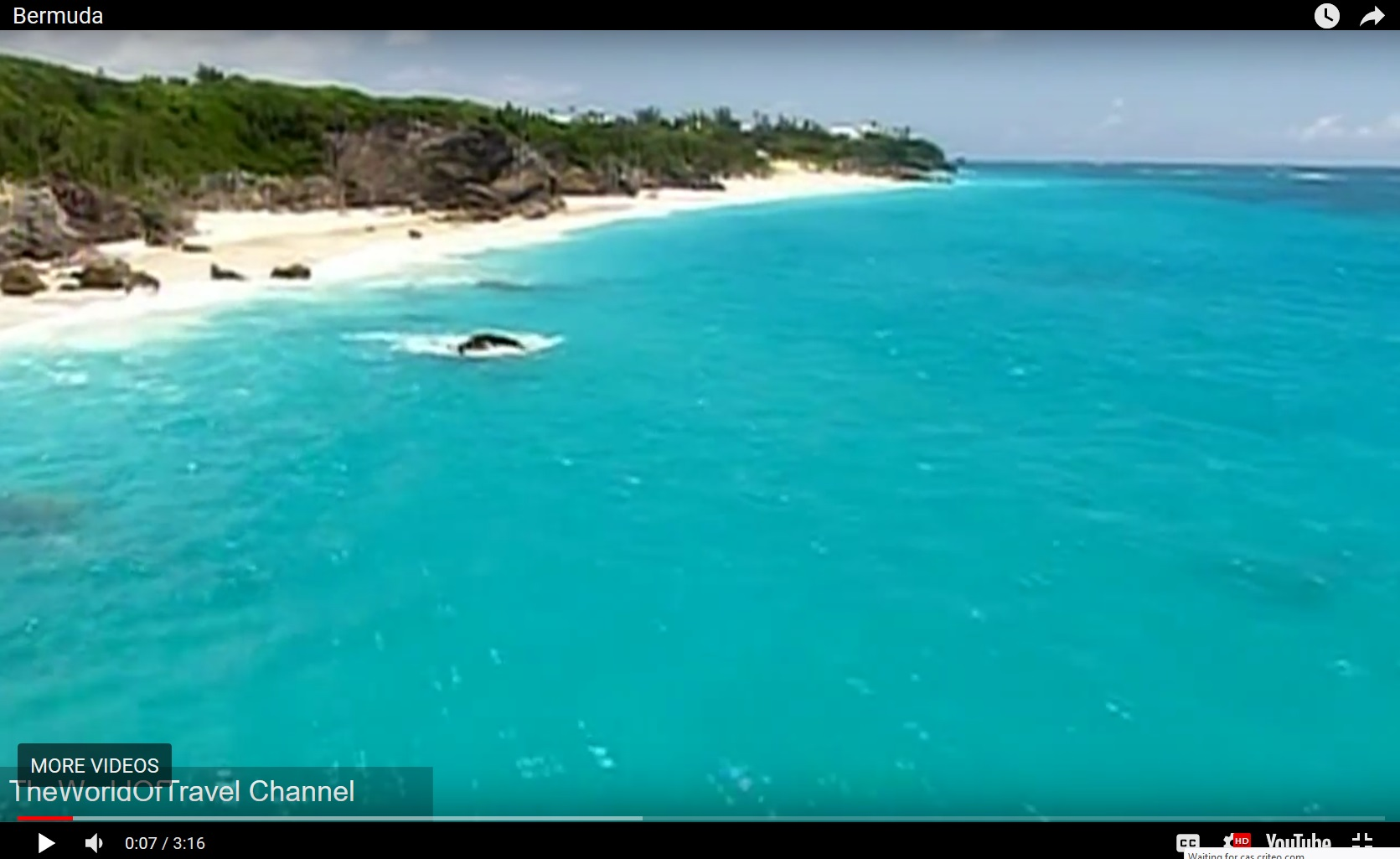 Watch amazing Bermuda videos