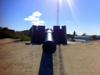 St David's Battery, famous 9.2 inch gun. Bermuda