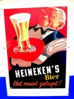 Heineken sign at Spring Garden in Hamilton, Bermuda